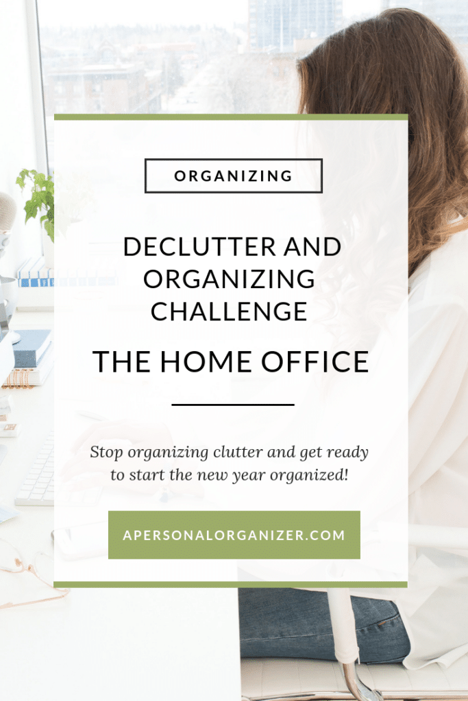 Organizing The Home Office - A Personal Organizer