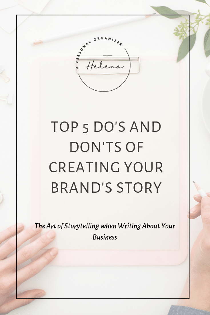 The Art of Storytelling: Top 5 Do's and Don'ts of Creating Your Brand's Story