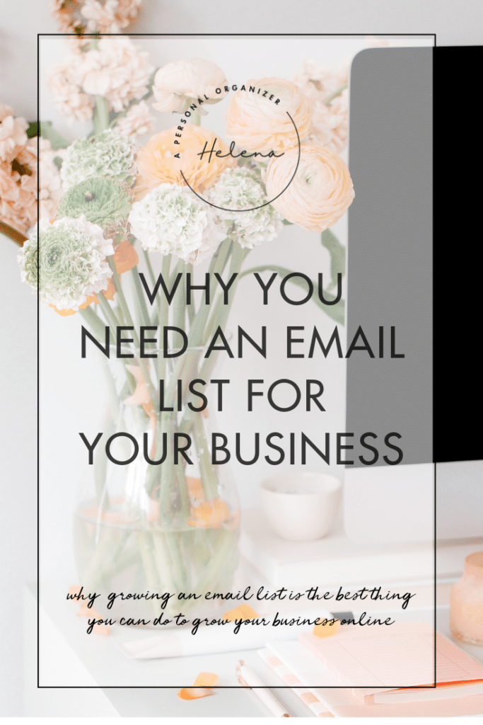 Need an email list for your business - A Personal Organizer