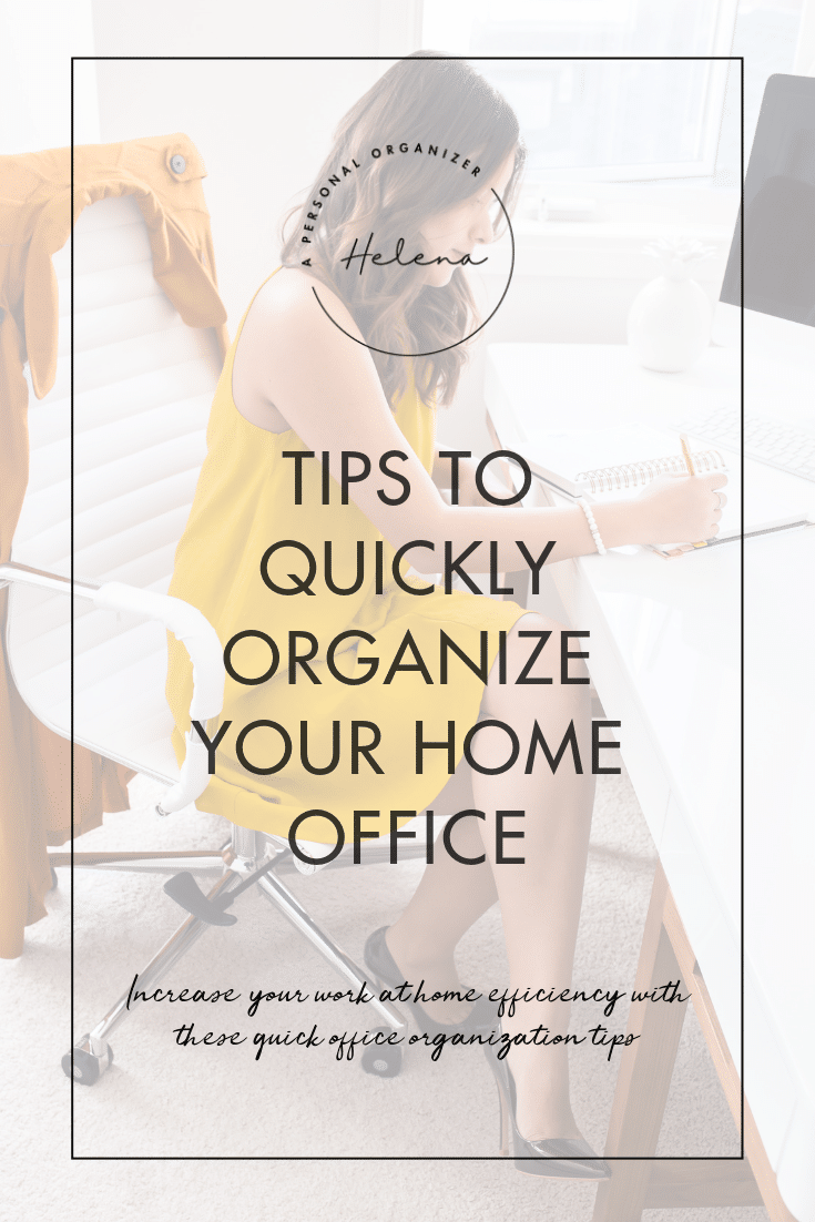 Home Office Organizing Take Over | Tips & Tools to Organize