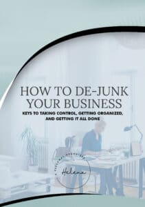 How to De-Junk your business - A Personal Organizer