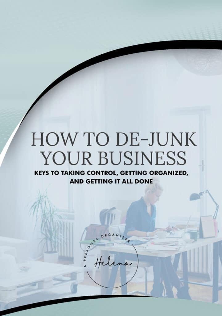 eBook - Dejunk your business - eBook, Workbook & Planner.