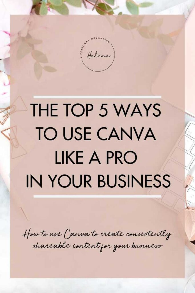 Top 5 ways to use canva for your business to create graphics like a pro #canva #contentcreation #entrepreneurtips #biztools