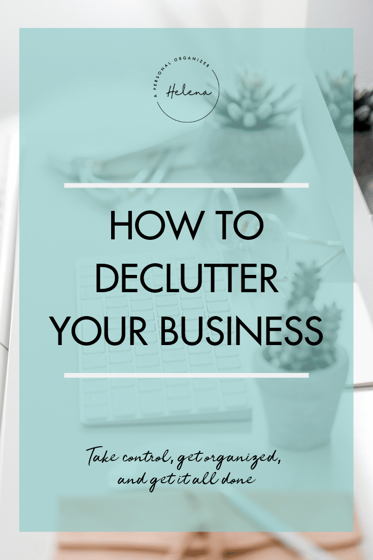 How to declutter your business