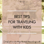 Traveling Tips - A Personal Organizer