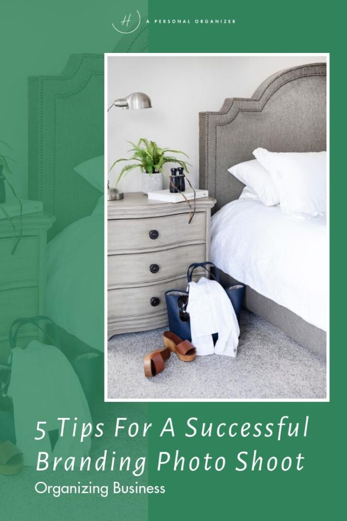 tips for a successful branding photoshoot organizing