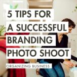 5 tips for a successful branding photoshoot organizing business 4