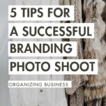 5 tips for a successful branding photoshoot organizing business 5
