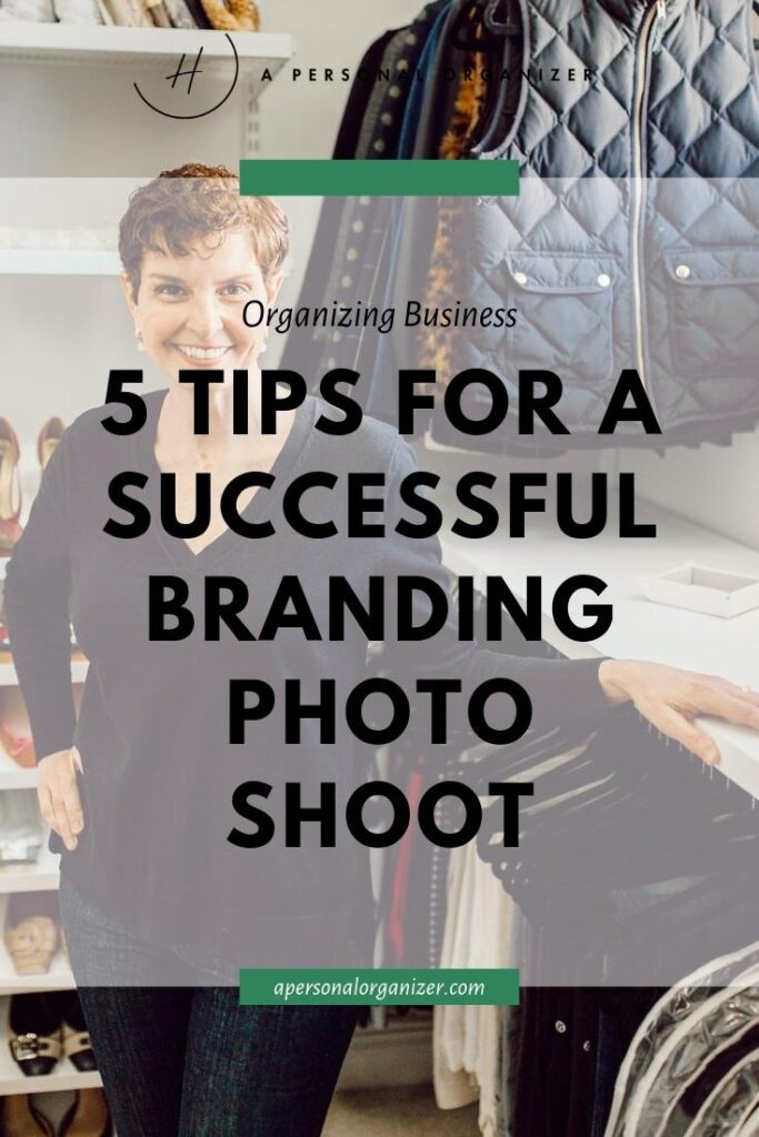 5 tips for a successful branding photoshoot