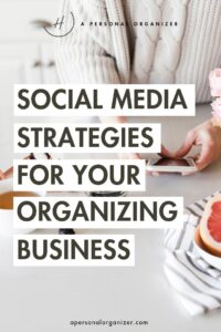 Social Media Strategies for Small Businesses - apersonalorganizer