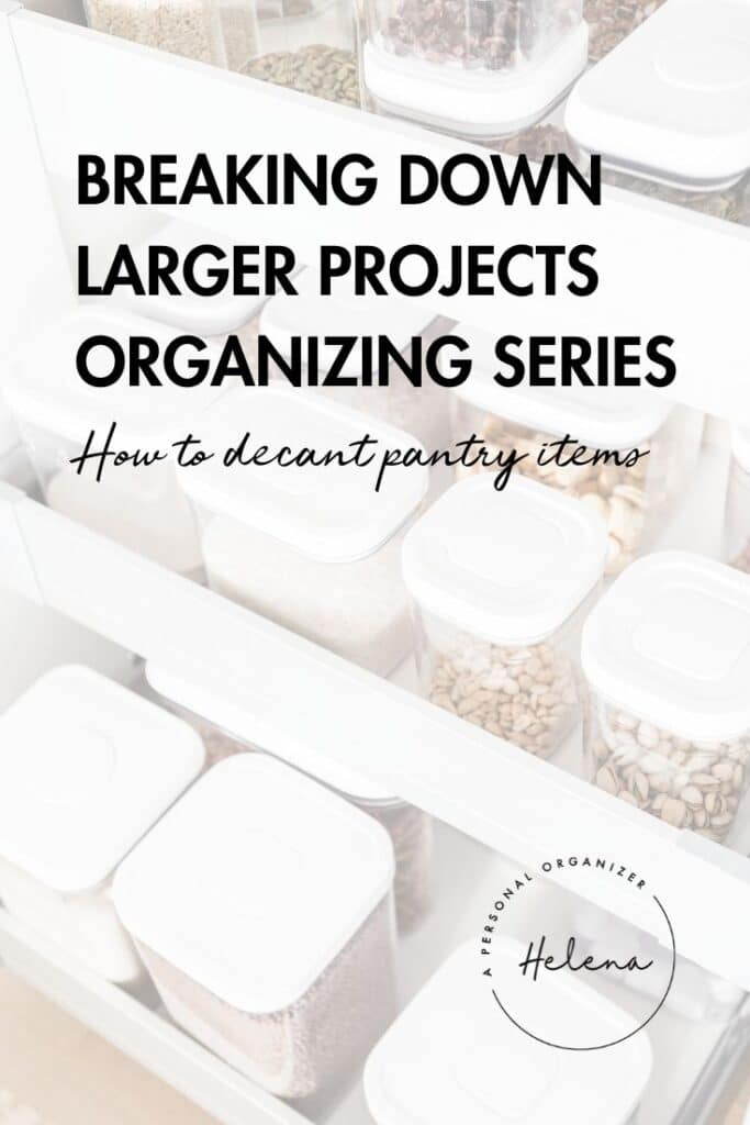Pantry Organizing - Use These Tips To Decant Your Dried Goods And Create Your Own Insta-Worthy Pantry.
