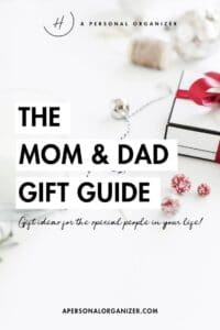 The Mom & Dad Gift Guide. Gifts for the most special people on your list! Our gift guide for moms and dads is here! Find something your mom or dad would really love to have that would make their day and their new year a little brighter!