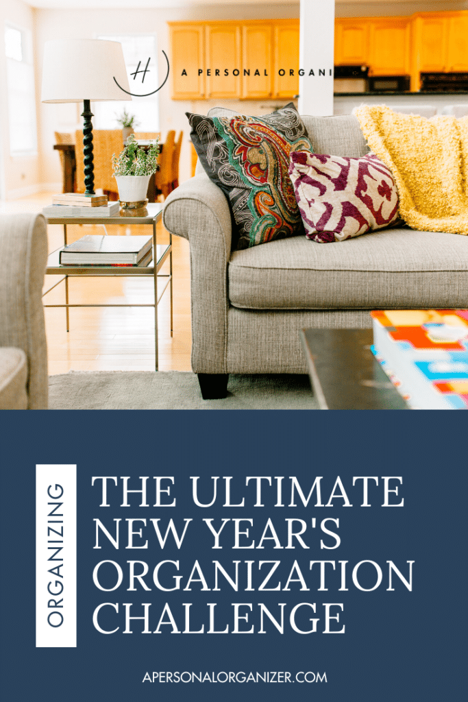 This New Year challenge will show you exactly how to declutter each area of your home BEFORE you organize it.