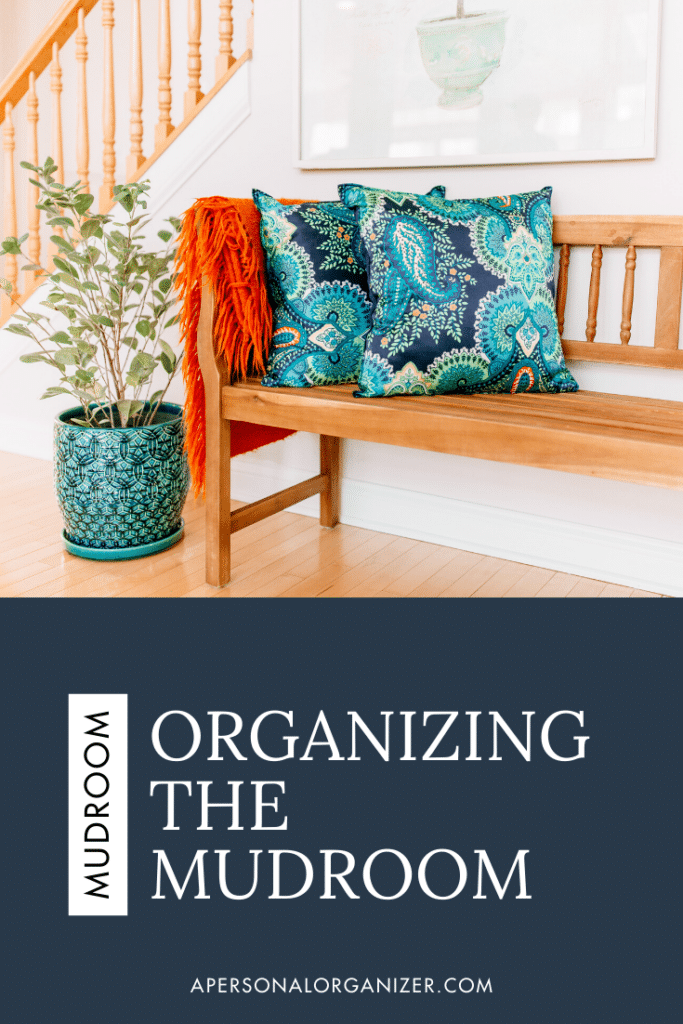 How to organize the entryway.