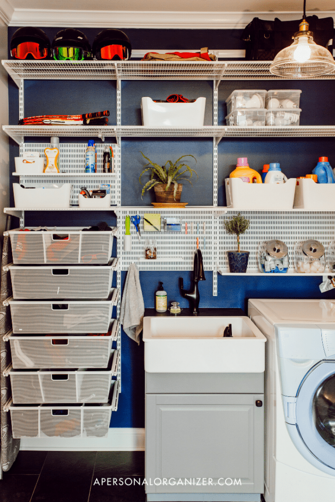 laundry room organizing tips