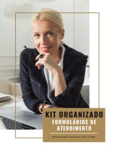 O KIT DE FORMULÁRIOS, CHECKLIST, PLANILHA & CONTRATO DE SERVIÇOS DA PERSONAL ORGANIZER
