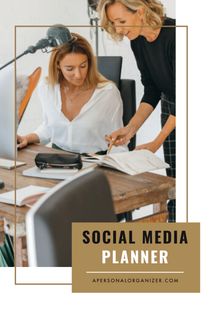 Social Media Planner | Organized For Profits™ with Helena Alkhas