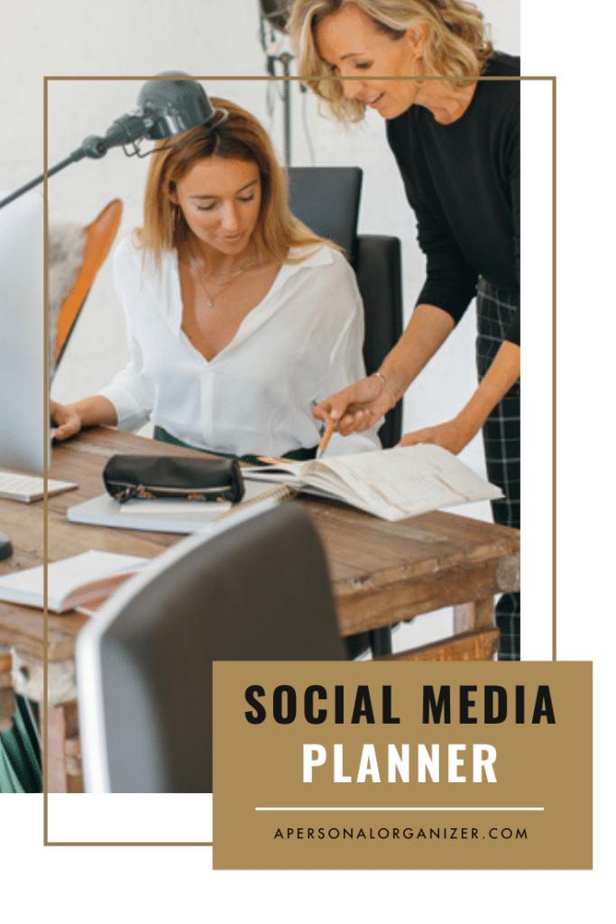 Social Media Planner | Organized For Profits™ with Helena Alkhas