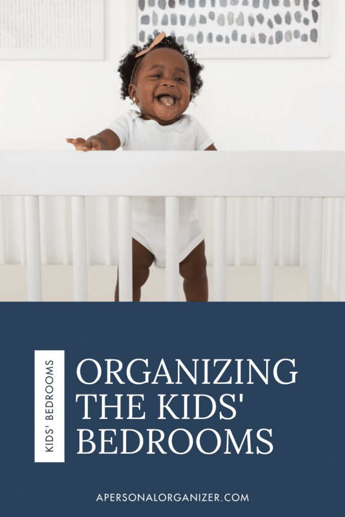 How to Organize The Kids Bedrooms Closet.