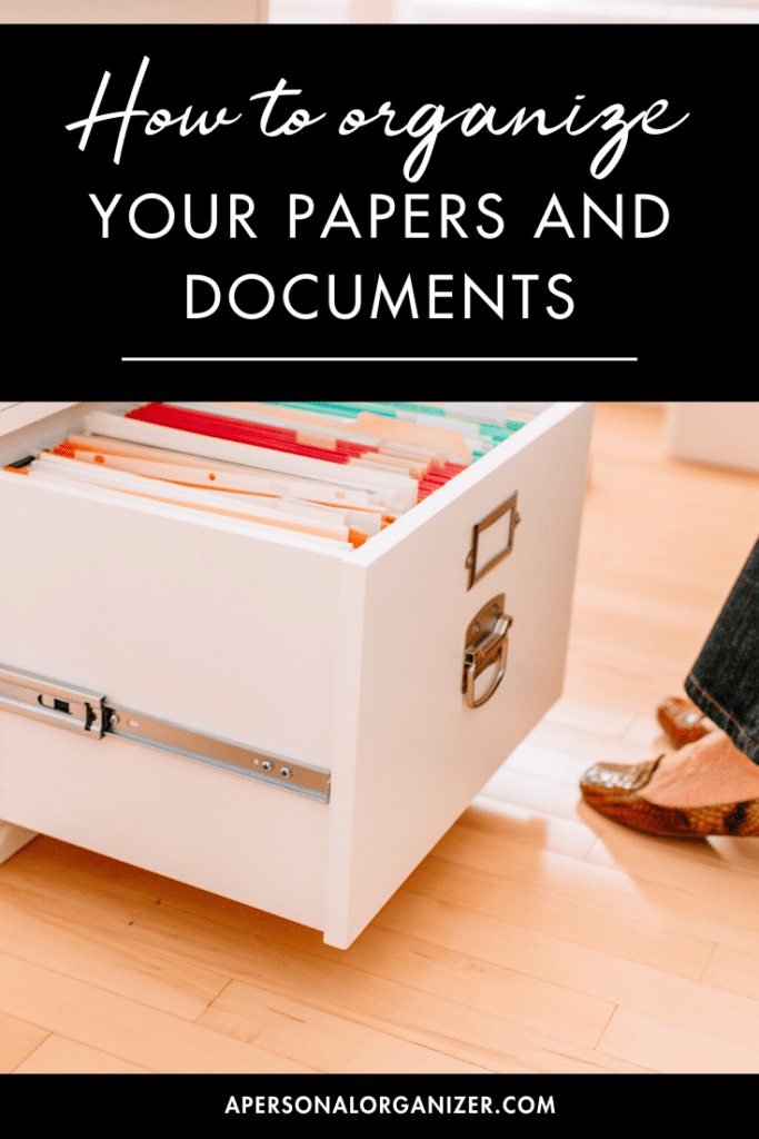How to Organize Your Papers And Documents