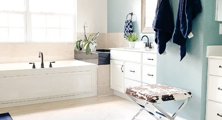 How to organize the bathroom.
