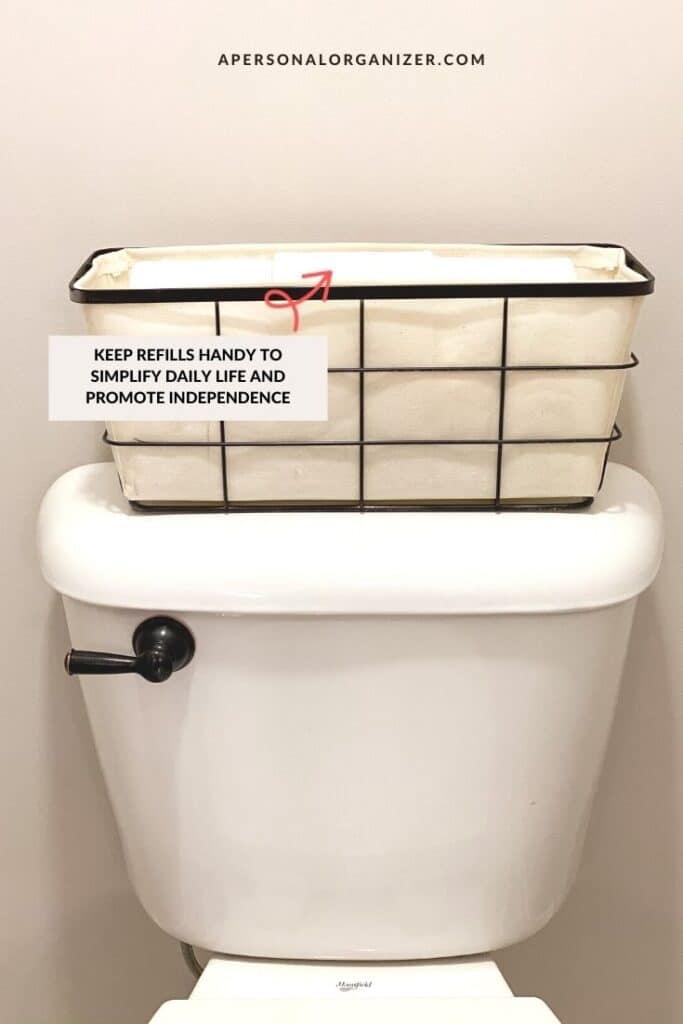 How to organize the bathroom